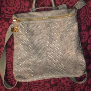 Urban Expressions Bags - Vegan Blue Gray Urban Expressions Backpack bag